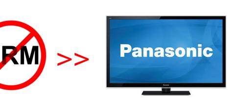 Copy DRM video to USB and play on Panasonic TV