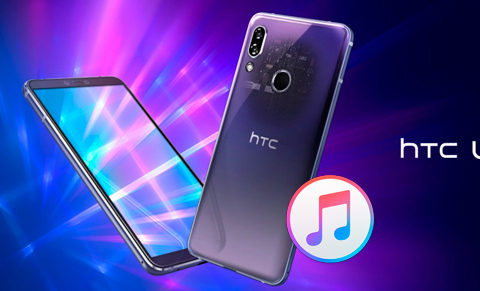 Enjoy iTunes Movies Music on HTC U19e