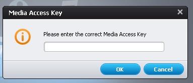 Input TiVo Access Key