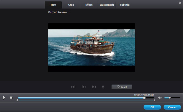 LG TV 3D Video Converter Edit Feature